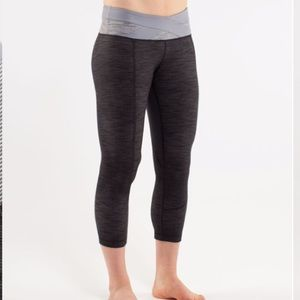 Lululemon Power House Crop Luon Size 4
